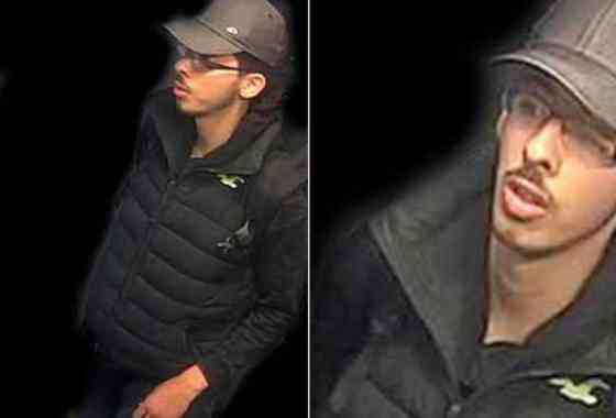 Imágenes nítidas de cámara de seguridad del terrorista de Manchester, Salman Abedi