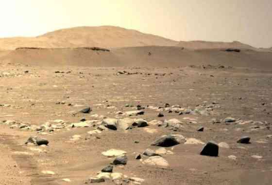 Un fascinante vídeo muestra el tercer vuelo sorprendentemente largo de Ingenuity en Marte