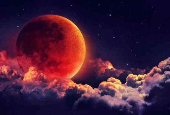 Súper luna de sangre del 31 de enero de 2018